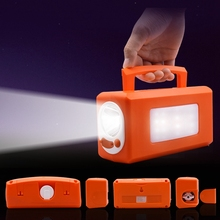 New Energy Multifunctional Lantern Portable Emergency Lights With USB Charger