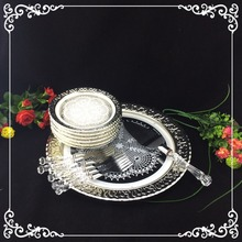 transparent deluxe acrylic dinnerware sets 14pcs
