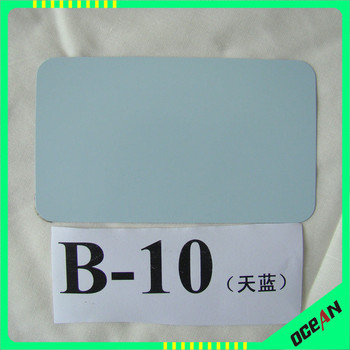 B-10 Sky blue color Solar water heater outer water tank steel plate, outer tank steel plate