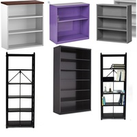 Home Furniture Wall Mount Modern Office 5 Tier Bookcases of All Styles