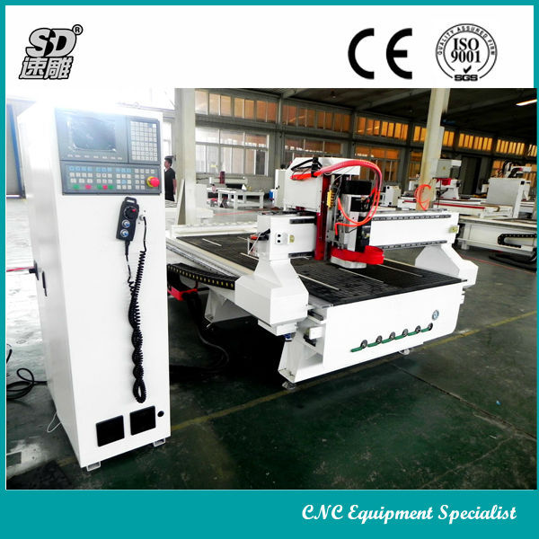 8 knives ATC CNC router, Automatic Tools Changing CNC router, Wood working