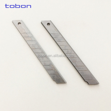 High carbon steel blade 9mm snap off cutter blades