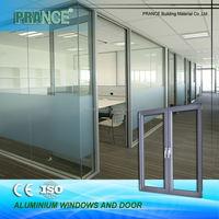 High performance stylish prefabricated aluminum windows and doors