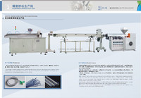 IV infusion tube/pipe/tubing producing machine line(ISO9001:2000,CE, 2015 new design)
