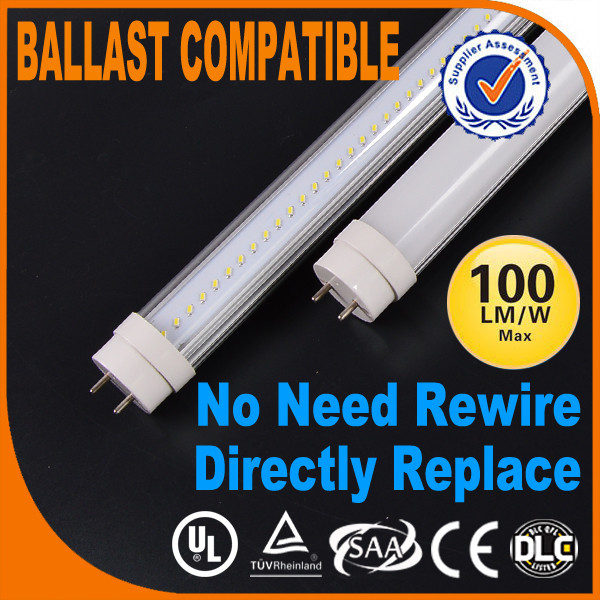 Ballast compatible Ceiling UL DLC Chinese China zhongshan tube lamp