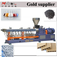 High Quality recyling parallel twin screw extruder for PP.PE.PVC/power cable making line
