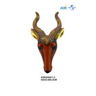 Professional made wholesale resin art deer head wall ornament