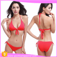 Promotional new style halter neck new design xxx hot sex bikini young girl picture