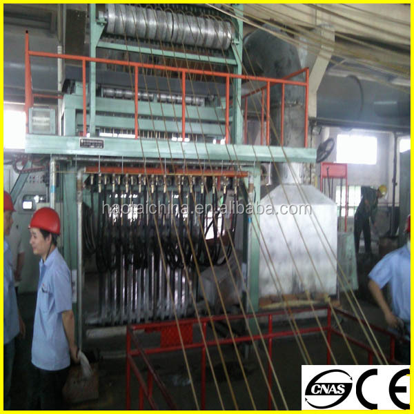 Upward casting machine for copper rod copper wire