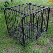2 door metal wire mesh powder coated pet dog crate, dog cage, dog kennel