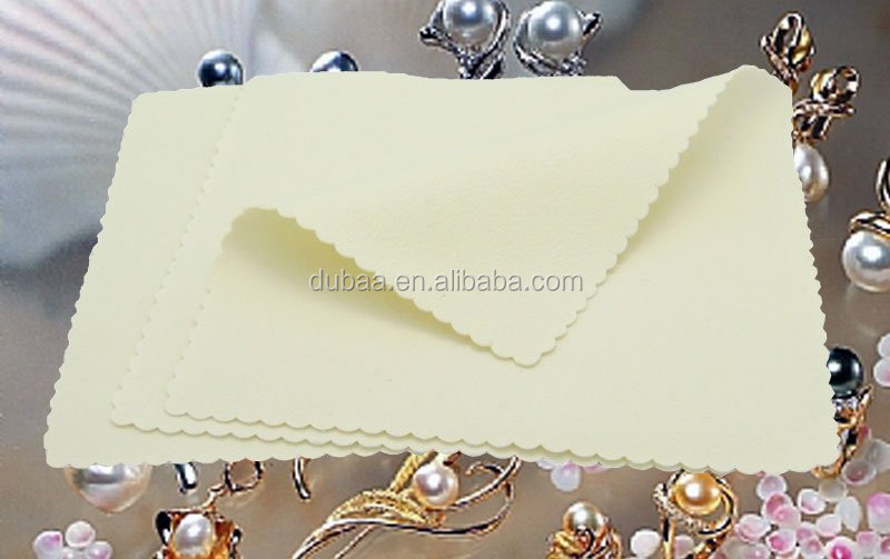 Jewelry Cleaning Polishing Cotton Cloth Sterling Silver