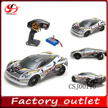 Factory outlet 1:16 2.4G Remote Control High-speed Berserker Drift Racing Car RC model car with battery power