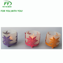 CH - 31319 Wholesale wedding favors table glass tube candle holder