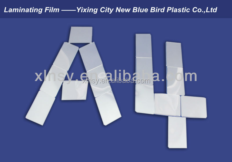 Heating Film High Tranparency Laminating Pouches Films