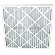 Pre filter with Mini Pleated Media industrial hvac air filter for furnace