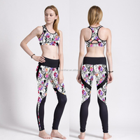 OEM factory Workout Clothes sexy sport bra dry fit fitness wear yoga wear