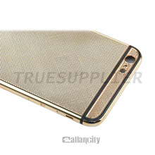 customized gold plated dummy phone housing cheap handphone housing
