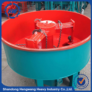 Standard Model Manual Cement Mixture Machine 350 Liter Concrete Pan Mixer For Sale