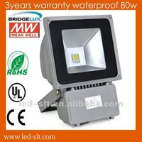 excellent heat sink performance 80w high power led stadium flood light