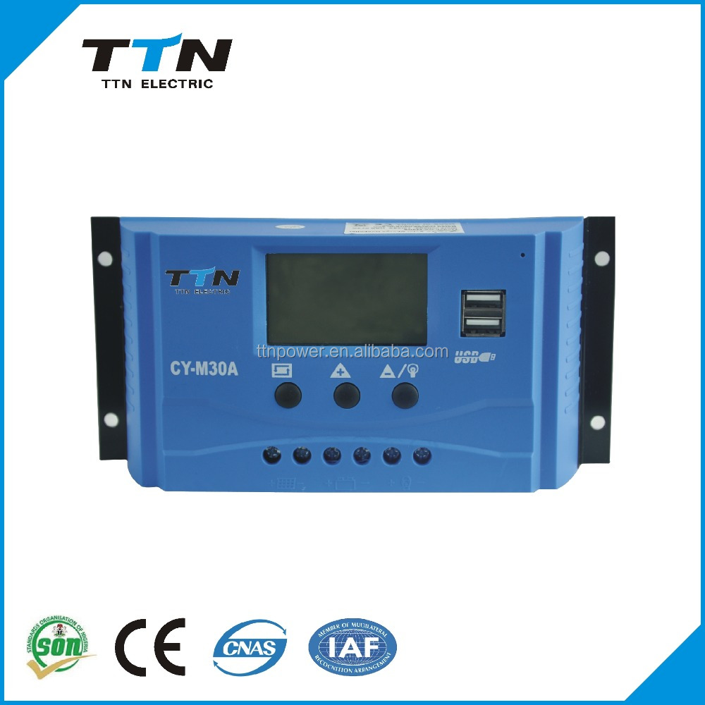 TTN-CYM-30A 12V-24V-48V Instruction To Solar <strong>Charge</strong> <strong>Controller</strong>