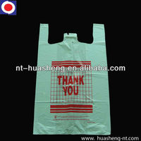 HDPE carry handle plastic bags