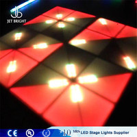 Night fever ray effect led colorful led illuminated dance floor