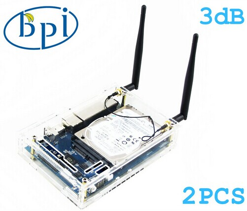 Dual core 1GHz 1GB RAM 4x Gigabit LAN 1x Gigabit WAN banana pi R1 supports HD 1080p video raspberry pi 3 single board computer