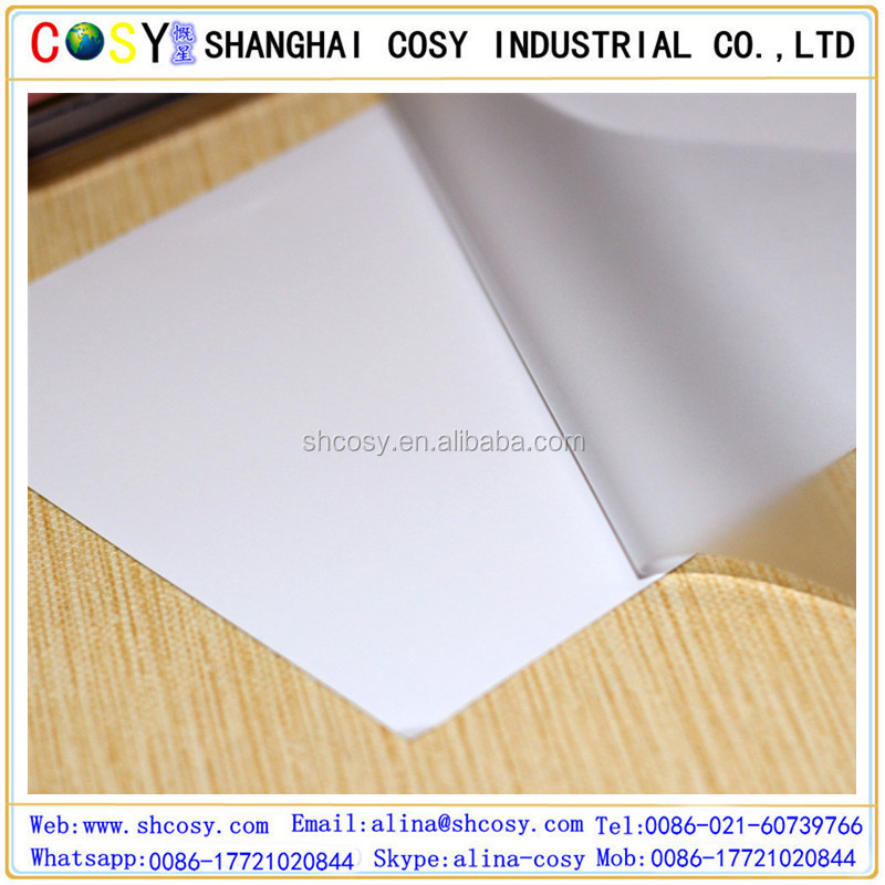 glossy/matte/3D Cold Laminating Films Photo cold lamination film roll
