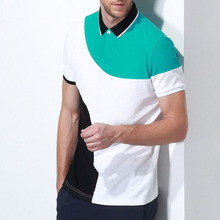 Custom color combination 100% cotton polo shirt/man polo t-shirt/blank t shirt t-shirt