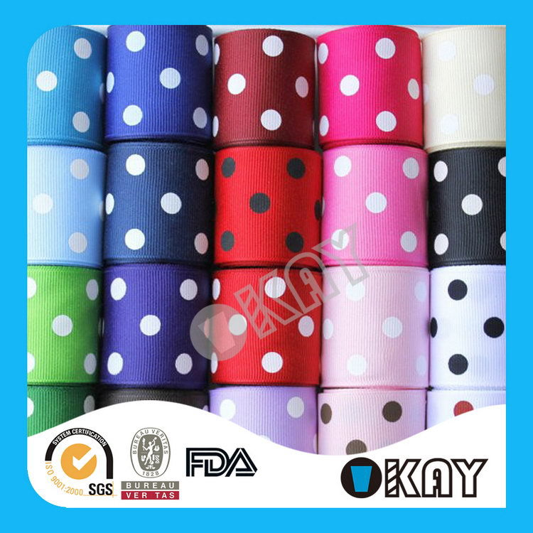 Top Quality Unique Printed Grosgrain Ribbon Bows Knot