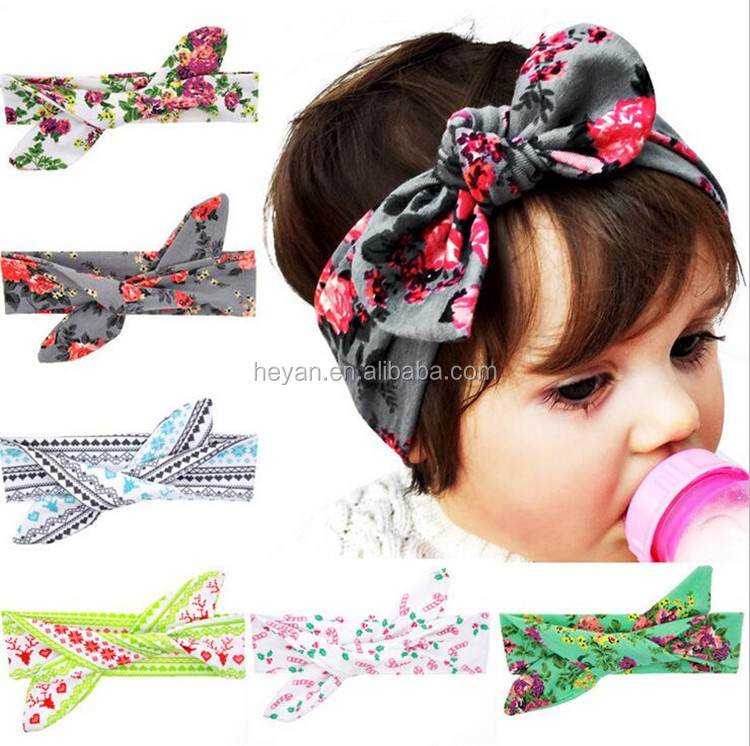 Baby Bow Headband, Baby Bows, Top Knot Headband