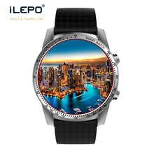 2017 Wifi DM368 1.39 inch AMOLED hd screen MTK6580 quad core android 5.1 OS quad core CPU 3g wcdma smart men luxury watch