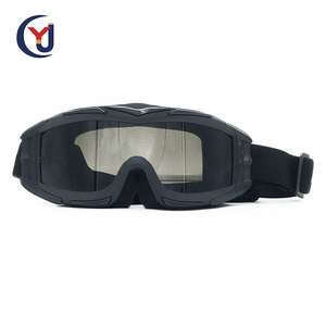 High quality protective military safety goggles lightweight shooting googles