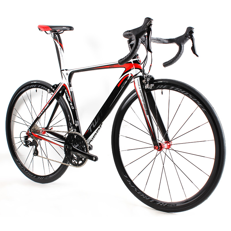 2017 design China suppliers road bike with 54cm frame carbon T900 fork