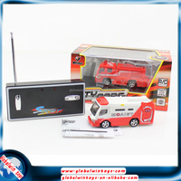 Rc model fire truck/bus/ambulance,toy car for kids