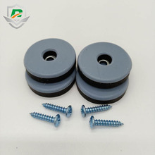 Customized Different Shape High Quality Silicone Screw Cover Caps Rubber Feet