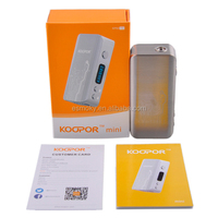 Alibaba china New vapor mod Smok Koopor mini 60W with tem control in stock