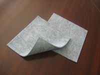 High quality needle punched nonwoven wool felt sheet