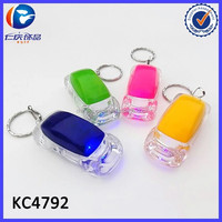 Wholesale Cheap Plastic Little Car LED Flash Key chain