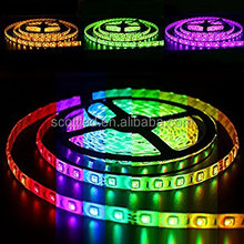 WS2812 IP65 60leds individually addressable led light strip smart tape digital RGB 5m