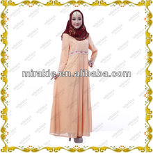MF21362 The new week long dress muslimah with beaded