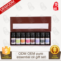 100% Pure Essential Oil Gift Set 8 Bottles/10ml Private Label