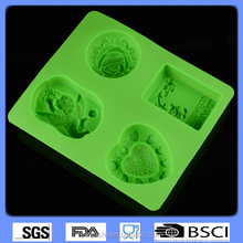 silicone rose angel soap mold DIY 3D soap mold food grade silicone pudding mold