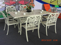 6 Piece Sets Kitchen Dining White Lacquer Craft Furniture