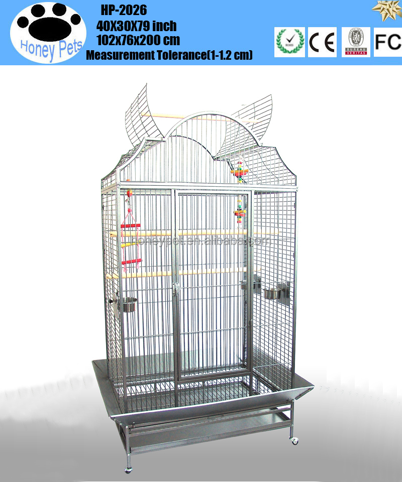 Pet Play Top Parrot Cockatiel Cockatoo Parakeet Finches in south africa parrot cages for sale