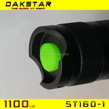 DAKSTAR ST16D-1 Trade Assurance smiling shark flashlight With CE and ISO9001