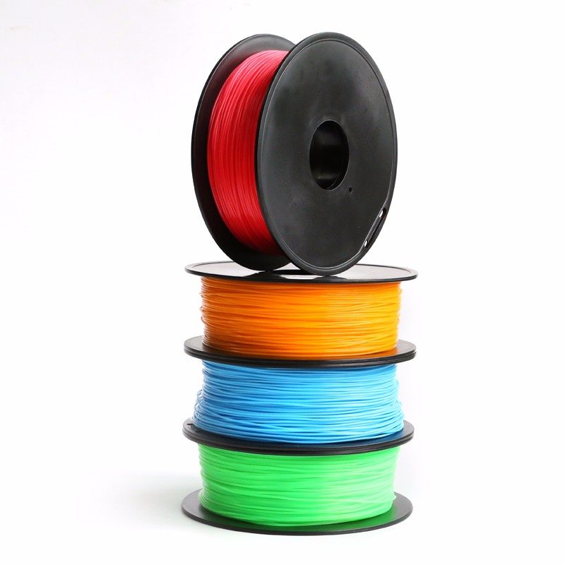 1.75MM 3D Printer Filaments PLA ABS Wood Flexible Rubber Manufacturer