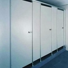 waterproof phenolic resin 12 mm thickness doors for bathrooms