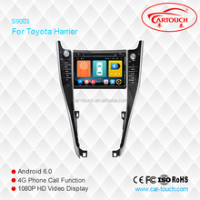 Wholesale Android 6.0 Car DVD Player for 9'' Toyota Harrier new Navigation Car DVD GPS Support Playstore,4G,WIFI