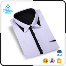 Popular broadcloth mens dress shirts models